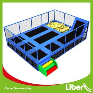 Liben Commercial Foam Pit Children Indoor Trampoline pictures & photos