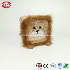 Cute Lion Plush Square OEM Gift Soft Toy pictures & photos