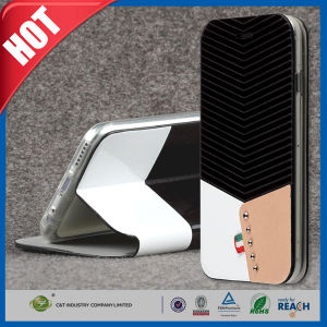 PU Flip Stand Leather Wallet Case for iPhone 6 pictures & photos
