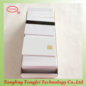 Custom Design Inkjet 5528 Chip Card with Hico Stripe pictures & photos