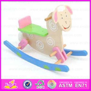 2015 Best Quality Kid Riding Wooden Rocking Horse Toy, Children Rocking Horse, Baby Toy Ride on Animal Toy Wooden Rocking Wjy-8006 pictures & photos
