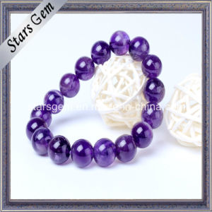 High Quality Natural Amethyst Beads with Hole pictures & photos