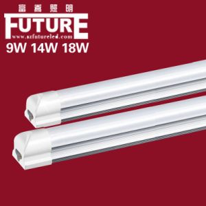 Turnable 18W T8 LED Tube Light, PC Aluminum Lighting (F-E3) pictures & photos