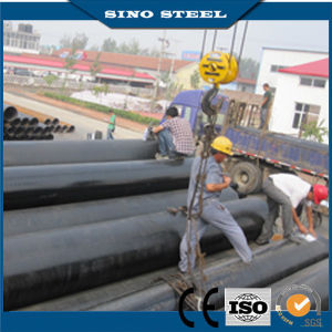 Hot Quality A106 Gr. B Carbon Black Seamless Steel Pipe pictures & photos
