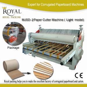 Corrugated Cardboard Cutting Machine Paperboard Machine (MJSD-2) pictures & photos