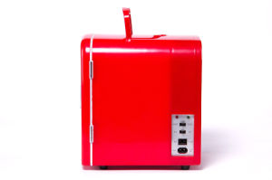 Electronic Mini Fridge 4liter DC12V, AC100-240V with Cooling and Warming for Car, Office or Home Use pictures & photos