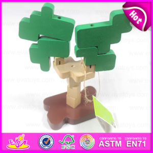 Multi-Function Brain Toys for Kids DIY Wooden Toys, Hot Promotional Toy DIY Wooden Toy for Christmas W03b035 pictures & photos