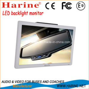 15.6inch Fixed Wall Mounted Bus Car LCD TV pictures & photos