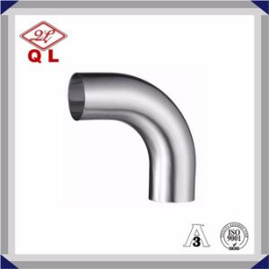 304/316L Sanitary Stainless Steel 45 Degree Long Welded Elbow pictures & photos