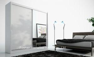 Modern Design Mirrored Sliding Door Wardrobe (HF-EY0233) pictures & photos