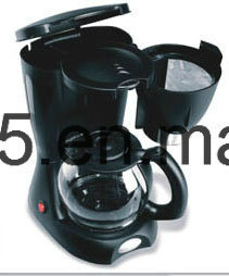 Electric Drip Coffee Maker, 8-Cup Programmable Switch Coffeemaker Machine with Glass Carafe pictures & photos