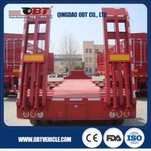 High Quality Low Loader Truck Semi Trailer pictures & photos