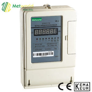 Three Phase Static Prepaid Energy Meter Series pictures & photos