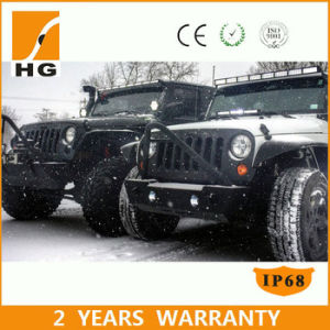 7W Phillips 52inch LED Light Bar 4D LED Light Bar Double Row Straight 672W LED Light Bar pictures & photos