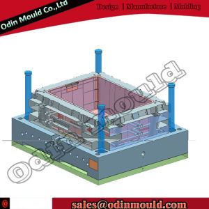 Design Good Quality Fruit Crate Injection Plastic Mould pictures & photos