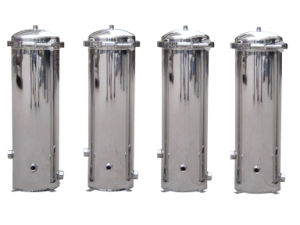 Polishing Stainless Steel Water Filter Housing pictures & photos