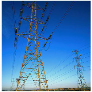 Overhead Transmission Line Steel Tower/Steel Structure