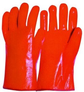 Smooth Finish Foam Liner PVC Winter Work Glove pictures & photos