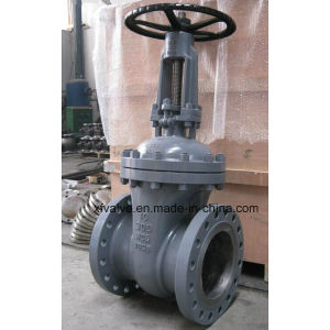 ANSI 150lb 300lb Cast Carbon Steel Wcb Flange Gate Valve pictures & photos