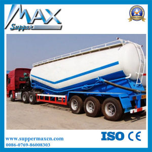 3 Axle Powder Transport Trailer with Air Compressor pictures & photos