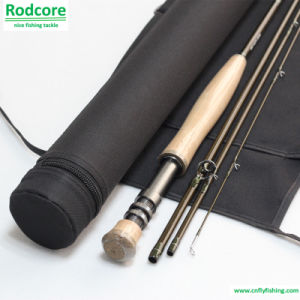 9FT 4PC 6wt Fast Action Top Quality Fly Fishing Rod pictures & photos