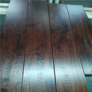 Antique Charming Texture with Saw Blade Acacia Solid Wood Flooring pictures & photos