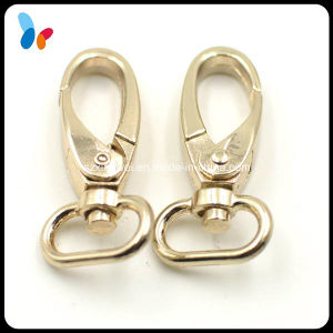 Standard Gold Metal Alloy Snap Hook for Handbags pictures & photos