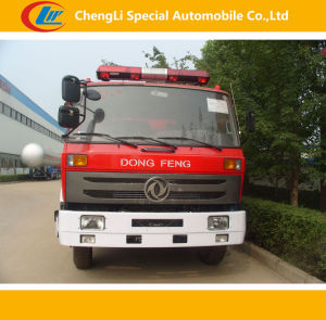 4*2 5000L Dongfeng Fire Fighting Trucks pictures & photos