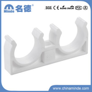 PPR Double Clamp Fitting for Building Materials pictures & photos