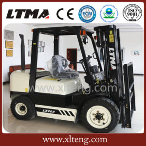 Ltma 3 Ton Diesel Forklift with Carton Clamp pictures & photos