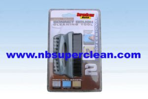 Car Bonnet Mni Plastic Wheel Brush (CN1851-1) pictures & photos
