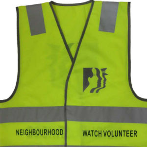Working Safety Reflective Vest with Class 2 Reflective Tape pictures & photos