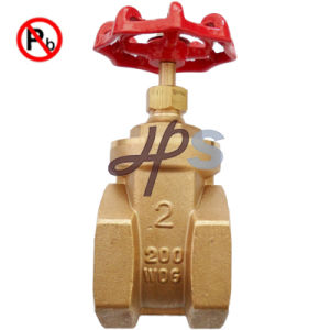 Low Lead Brass Pn16 200wog Gate Valve pictures & photos