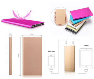4000mAh Power Bank Slim Battery Charger for Promotion pictures & photos