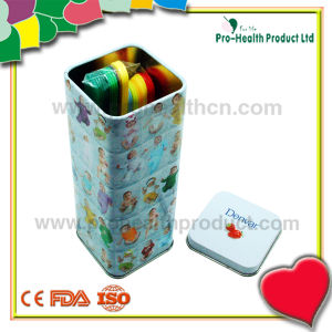 Medical Disposable Sterile Plastic Tongue Depressor With Tin Box pictures & photos