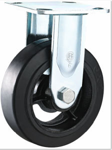 Total Brake Heavy Duty Caster Rubber Caster pictures & photos