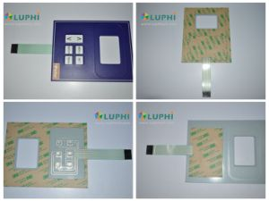 Flexible Circuit Membrane Switch Industrial Control Keypad pictures & photos