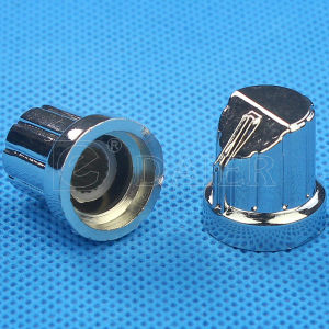 18 Teeth Chrome Plated Aluminum Potentiometer Knob pictures & photos