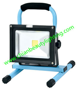 LED 10W Rechargeable LED Floodlight LED Flood Light pictures & photos