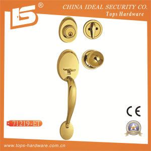 Zinc Alloy Big Handle Door Knob Lock -71219 pictures & photos