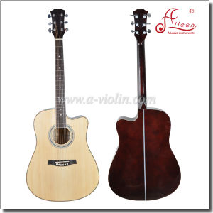 41 Inch Music Instruments Cutaway Acoustic Guitar (AF168C) pictures & photos