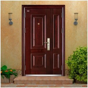 Steel Armoured Splicing Security Door 2014 Best Sellings Model with Classics Design pictures & photos