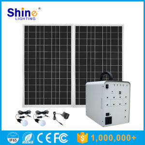 100W Solar System for Home Lighting (SH-XT0100W) pictures & photos