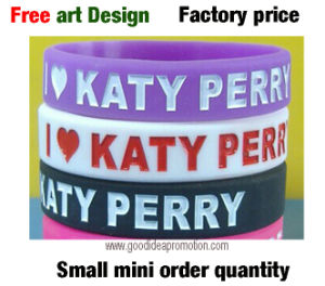 Promotional Silicone Wristbands with Custom Logo pictures & photos