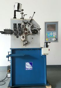 Automatic CNC Spring Compression Machine & Spring Machine with 2 Axis pictures & photos
