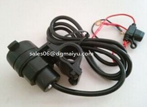 with USB Ports 12V Car, Motorcycle, Modified Vehicle Cigarette Lighter Socket pictures & photos