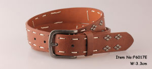 2017 High Quality PU Belt with Studs pictures & photos