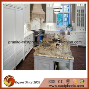 White/Black/Beige/Red/Gold Granite Kitchen Island Countertops for Kitchen/Bathroom pictures & photos