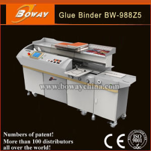 Boway A3 A4 Paper Size Wireless Glue Binding Machine (BW-988Z5) pictures & photos