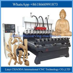 Multi Spindle CNC Router Multi Head 4 Axis CNC Router Engraver Engraving Machine pictures & photos